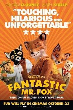 Couverture de Fantastic MR. Fox