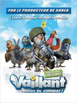 Couverture de Vaillant, pigeon de combat !