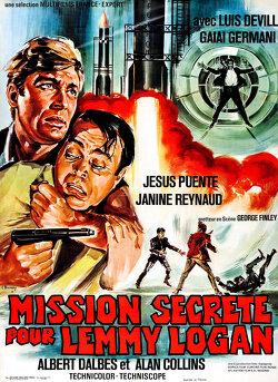 Couverture de Mission Secrète Pour Lemmy Logan