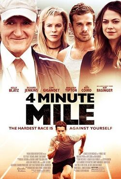 Couverture de 4 minute mile