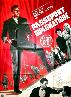 Couverture de Passeport Diplomatique Agent K8