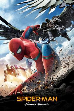 Couverture de Spider-Man Homecoming