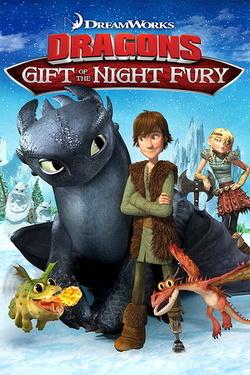 Couverture de Dragons, le cadeau du furie nocturne