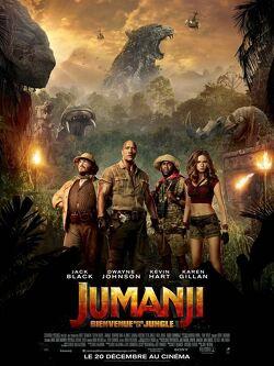 Couverture de Jumanji : Bienvenue dans la jungle