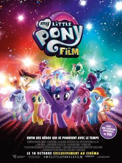 Couverture de My Little Pony: The movie