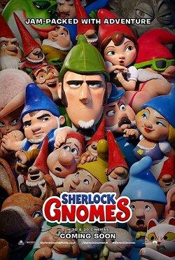 Couverture de Gnomeo & Juliette 2 : Sherlock Gnomes