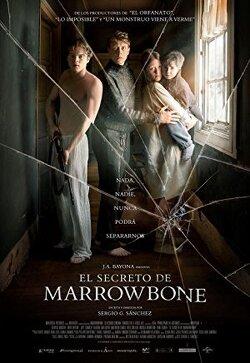 Couverture de Le secret des Marrowbone