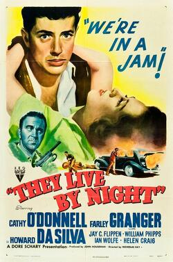 Couverture de They live by night (les amants de la nuit)