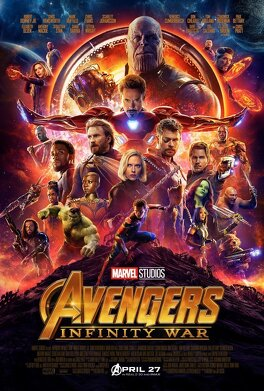 Couverture du livre : Avengers : Infinity War
