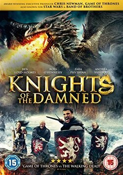 Couverture de Knights of the damned
