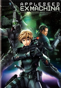 Couverture de Appleseed Ex Machina