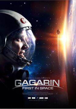 Couverture de Gagarine First in Space