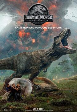 Couverture de Jurassic World 2 : Fallen Kingdom