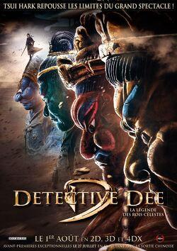 Couverture de Détective Dee : La légende des rois célestes