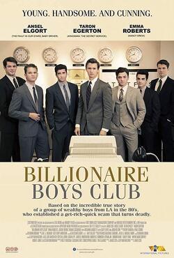 Couverture de Billionaire Boys Club