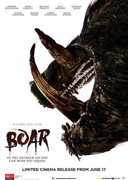 Couverture de Boar