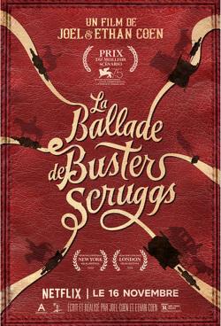 Couverture de La Ballade de Buster Scruggs
