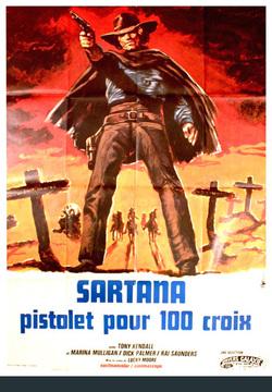 Couverture de Sartana, Pistolet pour 100 Croix