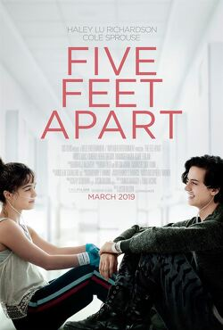 Couverture de Five feet apart