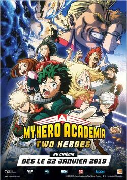 Couverture de My Hero Academia : Two Heroes