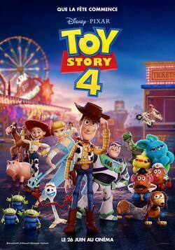 Couverture de Toy Story 4