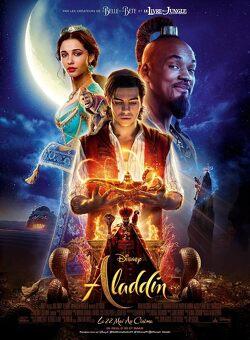 Couverture de Aladdin
