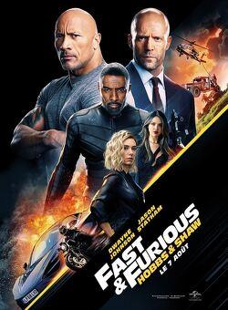 Couverture de Fast & Furious: Hobbs & Shaw
