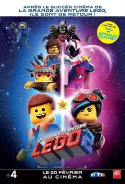 Couverture de La Grande Aventure Lego 2