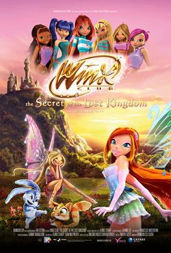Couverture de Les Winx, Le secret du royaume perdu