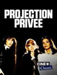 Couverture de Projection privée