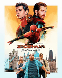 Couverture de Spider-Man: Far From Home