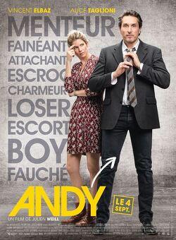 Couverture de Andy