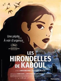 Couverture de Les Hirondelles de Kaboul