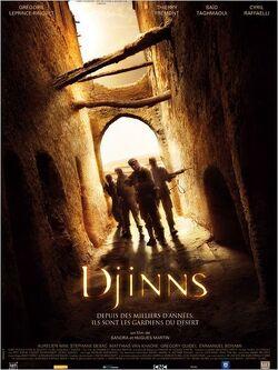 Couverture de Djinns