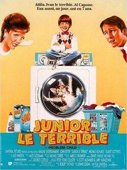 Couverture de Junior le terrible