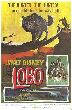 Couverture de La légende de Lobo