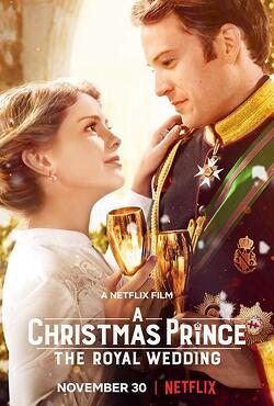 Couverture de A Christmas prince: the royal wedding