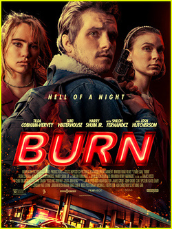 Couverture de Burn