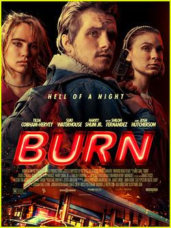 Couverture de Burn
