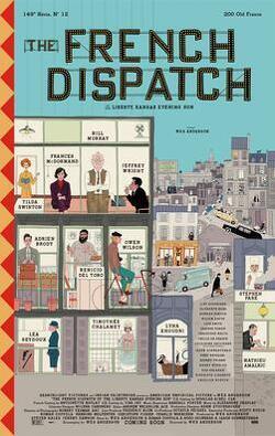 Couverture de The French Dispatch
