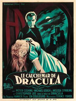 Couverture de Le Cauchemar de Dracula