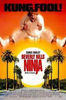 Couverture de Le Ninja de Beverly Hills