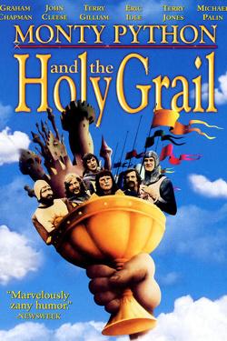 Couverture de Monty Python, sacré Graal