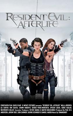 Couverture de Resident Evil, Épisode 4 : Afterlife