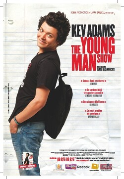 Couverture de Kev Adams The young man show