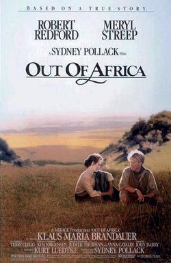 Couverture de Out of Africa