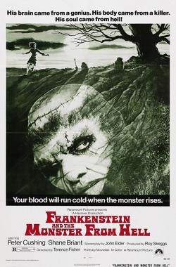 Couverture de Frankenstein et le monstre de l'enfer