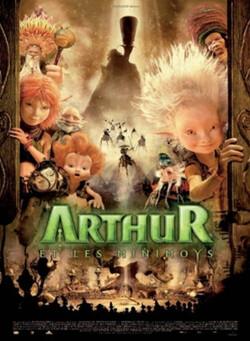 Couverture de Arthur et les Minimoys