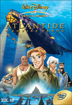 Couverture de Atlantide l'empire perdu