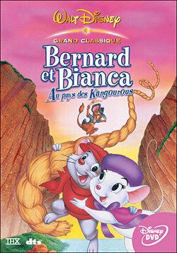 Couverture de Bernard et Bianca au pays des kangourous